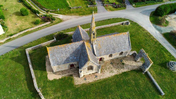 Chapelle de Penhors Drone
